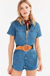 Urban Outfitters Elastic D Ring Belt Black