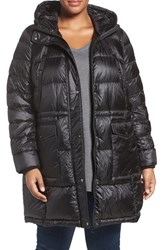 Bernardo Plus Size Women's Packable Down Primaloft Parka