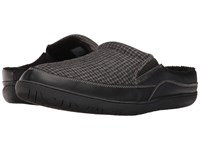 Foamtreads Sheldon Black Men's Slippers