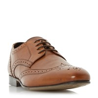 Howick Rushmoor Leather Brogue Shoes Tan