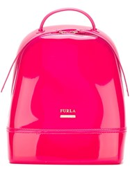 Furla Medium 'Candy' Backpack Pink And Purple