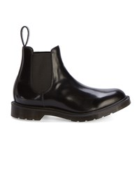 Dr. Martens Black Made In Uk Smooth Leather Chelsea Boots