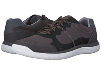 Clarks Votta Edge Grey Synthetic Men's Lace Up Casual Shoes Gray
