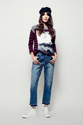 Free People Borough Released Hem Jean