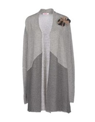 Blugirl Folies Cardigans Light Grey