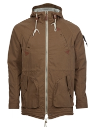 Fly 53 Cyrix Full Zip Windbreaker Brown