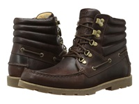 Sebago Hyde Hiker Mid Dark Brown Leather Men's Lace Up Boots