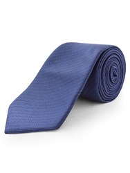 Limehaus Self Stripe Tie Blue