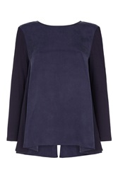 Damsel In A Dress Tulip Top Navy