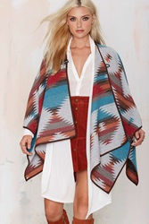 Nasty Gal Cape It Coming Toggle Poncho