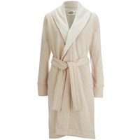 Ugg Women's Heritage Comfort Duffield Dressing Gown Oatmeal Heather Grey