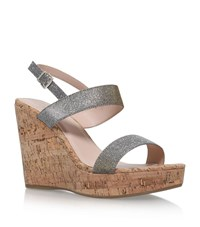 Carvela Kurt Geiger Kay Sandals Female Metallic