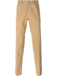 Carven Slim Chino Trousers Nude And Neutrals