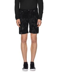 Just Cavalli Denim Denim Bermudas Men
