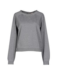 Sun 68 Sweatshirts Light Grey