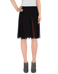 Salvatore Ferragamo Skirts Knee Length Skirts Women Black