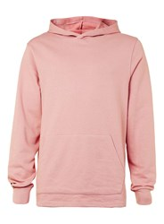 Topman Pink Fixed Hem Oversized Fit Hoodie