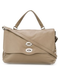Zanellato Medium 'Postina' Satchel Nude And Neutrals