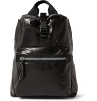 Lanvin Leather Backpack Black