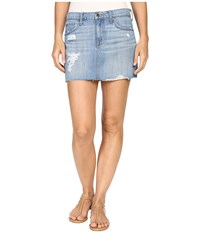 Lucky Brand Classic Denim Mini Skirt Fort Ross Women's Skirt Blue