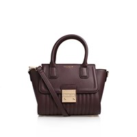 Carvela Kurt Geiger Mel Lock Mini Tote Wine