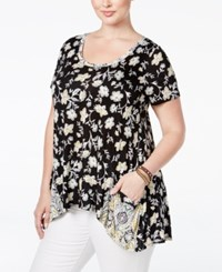 American Rag Trendy Plus Size Paisley Print Tunic Only At Macy's