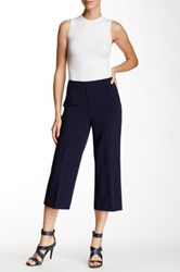 Stellar Stretch High Waist Crop Pant Blue