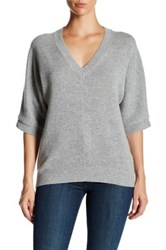 Brochu Walker Romy Wool And Cashmere Blend Pullover Gray