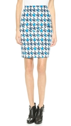 Finderskeepers Nothing To Lose Skirt Houndstooth Print