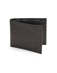 William Rast Slimfold Wallet Black