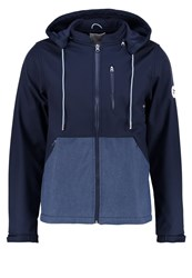 Knowledge Cotton Apparel Outdoor Jacket Total Eclipse Dark Blue