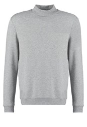 Your Turn Sweatshirt Grey Melange Mottled Grey