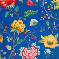 Pip Studio Floral Fantasy Wallpaper 341034 Dark Blue
