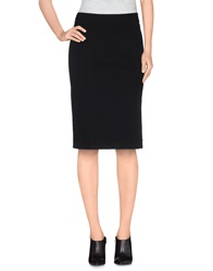 Marina Yachting Knee Length Skirts Black