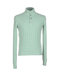 Della Ciana Knitwear Turtlenecks Men Light Green