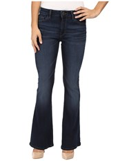 Dl1961 Heather Petite Flare In Magnolia Magnolia Women's Jeans Bone