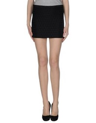 Mauro Grifoni Mini Skirts Black