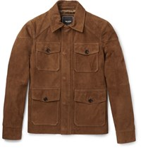 Todd Snyder Suede Jacket Tan