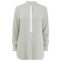 Rag And Bone Rag And Bone Women's Virginia Shirt Black White Stripe