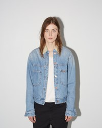 Etoile Isabel Marant Camden Denim Jacket Light Blue