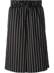 Opening Ceremony Striped Shorts Black