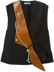 J.W.Anderson J.W. Anderson Leather Panel Tank Top