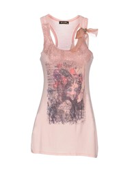 Romeo Y Julieta Topwear Vests Women Light Pink