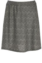 Alice And You A Line Knitted Skirt Black