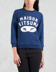 Maison Kitsune Fox Eyes Sweatshirt