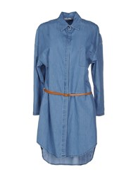Noshua Denim Denim Shirts Women Blue