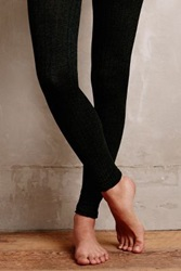 Anthropologie Marled Knit Tights Holly