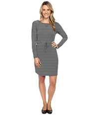 Carve Designs Dillon Dress Anchor Southwest Stripe Women's Dress Gray