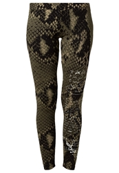 Desigual Lena Leggings Green