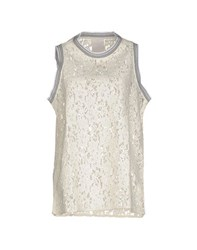 Luxury Fashion Topwear Tops Women Ivory